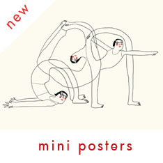 Red Cheeks Factory A4 mini posters