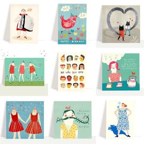 various postcard set 2