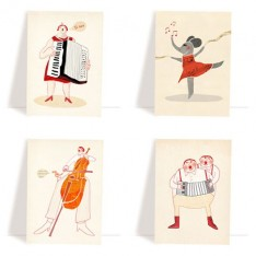 set of music cards