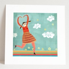 giclee print: love for life