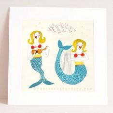 singing mermaids