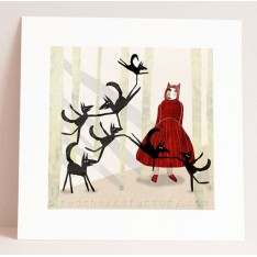 little red ridinghood and the seven wolves