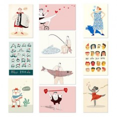 A6 cards (set of 10)