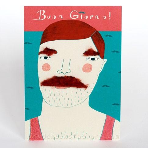 'buon giorno' postcard
