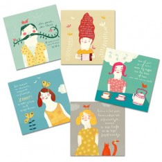 poëzie postkaarten set (dutch)