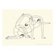 yoga mini poster - beyond your flexibility