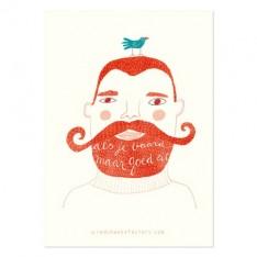 Als je baard maar goed zit