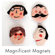 Magnificent Magnets of Red Cheeks Factory